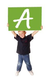 alex letter A